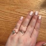 American Eagle Outfitters Jewelry | American Eagle Rose Gold Boho Rings (Set Of 2) | Color: Gold/Pink | Size: 8
