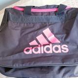 Adidas Bags | Adidas Dufflegym Bag | Color: Gray/Pink | Size: Os