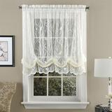 Troubadour Lace Balloon Shade 56 x 63, 56 x 63, Ivory