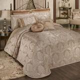Camelot Grande Bedspread Almond, California King, Almond
