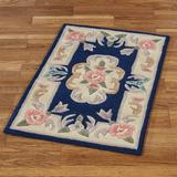 """Serena Aubusson II Small Accent Rug 1'10"""" x 2'10"""", 1'10"""" x 2'10"""", Burgundy"""
