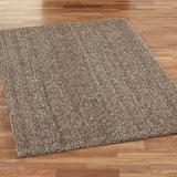Frosted Luxury Rectangle Rug, 5' x 7', Red Tan