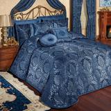 Camelot Grande Bedspread Navy, California King, Navy