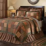 Crosswoods Patchwork Quilt Multi Warm, King, Multi Warm