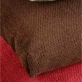 Twillo Chair Cushions Set of Two, Set of Two, Chocolate