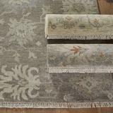 Casa Florentina Sewell Hand Knotted Rug Gray 3' x 12' - Ballard Designs