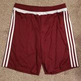 Adidas Bottoms | Adidas Soccer Shorts Yxl | Color: Red/White | Size: Youth Xl