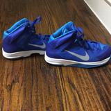 Nike Shoes | Nike Hyperquickness Basketball Shoes | Color: Blue/White | Size: 6.5