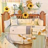 Harriet Bee Deluca 4 Piece Crib Bedding Set Cotton Blend   Wayfair 154PBEE