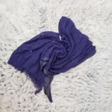 American Eagle Outfitters Accessories | American Eagle Sequined Scarf | Color: Blue/Purple | Size: Os