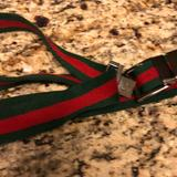 Gucci Accessories | Authentic Gucci Belt | Color: Green/Red | Size: Os