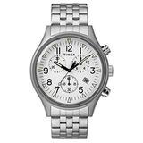 TIMEX Silver Stainless Steel Watch-TW2R68900