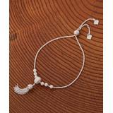 Yeidid International Women's Bracelets - Sterling Silver Tassel Adjustable Bracelet