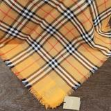 Burberry Accessories | %Authentic Burberry Check Scarf | Color: Tan | Size: 145cm X 145cm