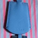 J. Crew Accessories | Nwot - J Crew Handbag Accessory Tag - Blue | Color: Blue/Silver | Size: Os