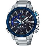 Solar Analog-digital Stainless Steel Bracelet Watch 54mm - Blue - G-Shock Watches