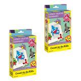 Creativity for Kids Craft Kits - Corner Creature Bookmark Craft Kit - Set of Two