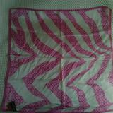Coach Accessories | Coach Silk Scarf | Color: Pink/White | Size: Os