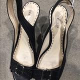 Coach Shoes | Coach Sling Back | Color: Black | Size: 6.5