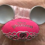 Disney Accessories   Disney Princess Mickey Ears   Color: Pink/Silver   Size: Os