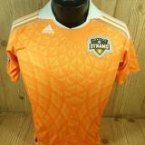 Adidas Shirts & Tops | Mls Houston Dynamo Futbol Soccer Jersey Kids Large | Color: Orange/White | Size: Lb