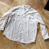 Columbia Shirts | Columbia Pfg Performance Fishing Gear Button Down | Color: White | Size: Various