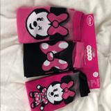 Disney Accessories   Brand New Womens Minnie Mouse Socks   Color: Black/Pink   Size: Os