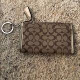 Coach Accessories | Coach Credit Card Keychain | Color: Brown | Size: Os