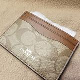 Coach Bags | Coach Credit & Id Wallet | Color: Brown | Size: 4 (L) X 3 (H)
