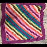 Coach Accessories | Coach Silk Scarf | Color: Pink/Purple | Size: Os