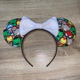 Disney Accessories | Avengers Custom Minnie Ears | Color: Black | Size: One Size