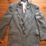 Burberry Suits & Blazers | Burberry Two Button Blazer 42l | Color: Brown/Tan | Size: 42l