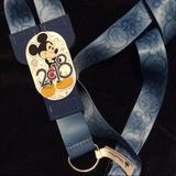 Disney Accessories | Disney 2018 Mickey Reversible Lanyard | Color: Blue | Size: Os