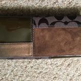 Coach Bags   Coach Brown Leather Wallet   Color: Brown/Tan   Size: Os