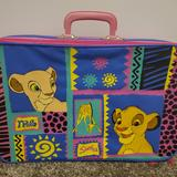 Disney Accessories | Disney'S Lion King Luggage | Color: Pink | Size: Osbb