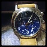 Dooney & Bourke Accessories | Dooney & Bourke Men'S Leather Watch | Color: Cream | Size: Os
