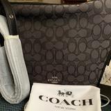 Coach Bags   Coach Women'S Signature Crossbody Handbag - Smoke   Color: Black   Size: Os
