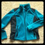 Columbia Jackets & Coats   Columbia Fleece Jacket   Color: Black/Blue   Size: L