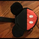 Disney Accessories | Disney Mickey Mouse Pacifer Case | Color: Black/Red | Size: Osbb