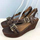 Anthropologie Shoes | Corso Como Anthropologie Brown Sandals Platform 10 | Color: Brown | Size: 10