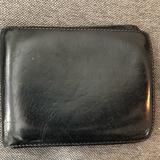 Coach Bags   Authentic Mens Coach Black Leather Wallet   Color: Black   Size: Os