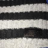 Coach Accessories   Coach Striped Scarf   Color: Black/Gray   Size: Os