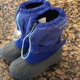 Columbia Shoes   Girls Snow Boots   Color: Purple   Size: 4g