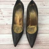 Coach Shoes   Coach Adora Brown Leather Pointy Toe Heels   Color: Brown   Size: 7.5