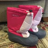Columbia Shoes   Girls Columbia Snow Boots   Color: Pink   Size: 4bb
