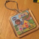 Disney Accessories | Disney Keychain Or Bag Charm | Color: Green/Yellow | Size: Os