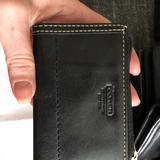 Coach Accessories   Leather Coach Keychain Wallet   Color: Black   Size: Os