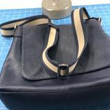 Coach Bags | Coach Black Leather Shoulder Bag. | Color: Black | Size: Os