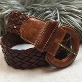 Coach Accessories   Coach British Tan Braided Leather Belt S   Color: Brown   Size: Small