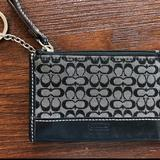 Coach Bags | Coach Keychain Wallet | Color: Black | Size: Keychain Wallet